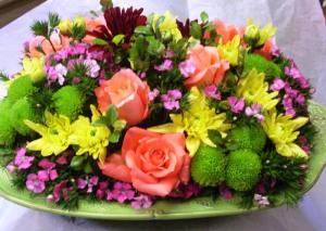 Flower in different vases