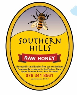 Southern Hills raw honey