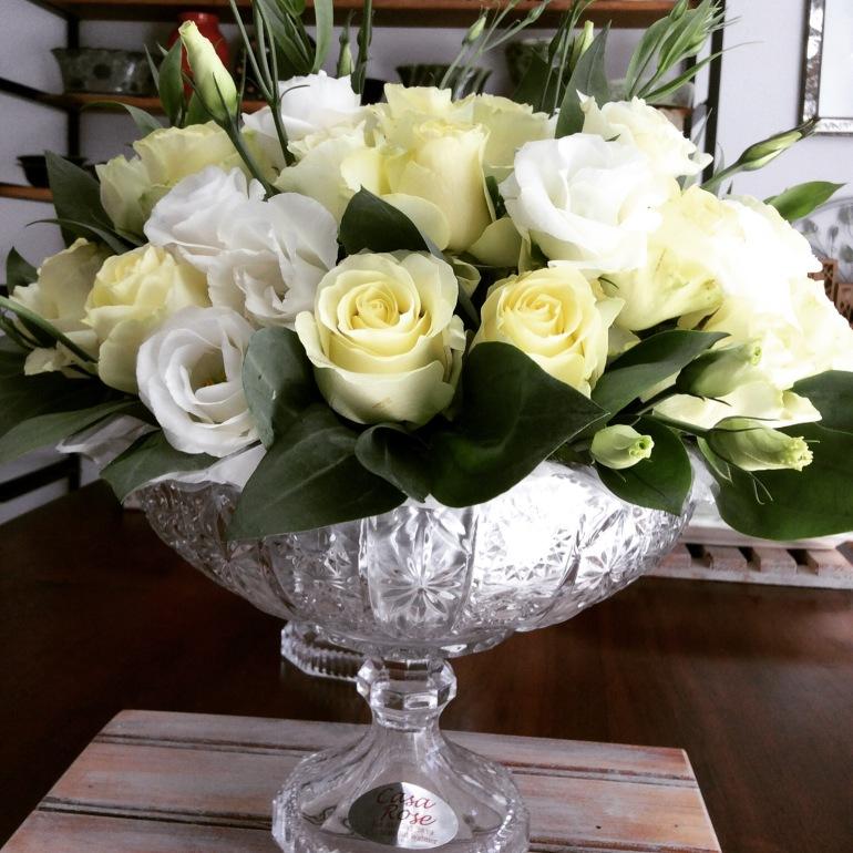 Rose bowl flowers