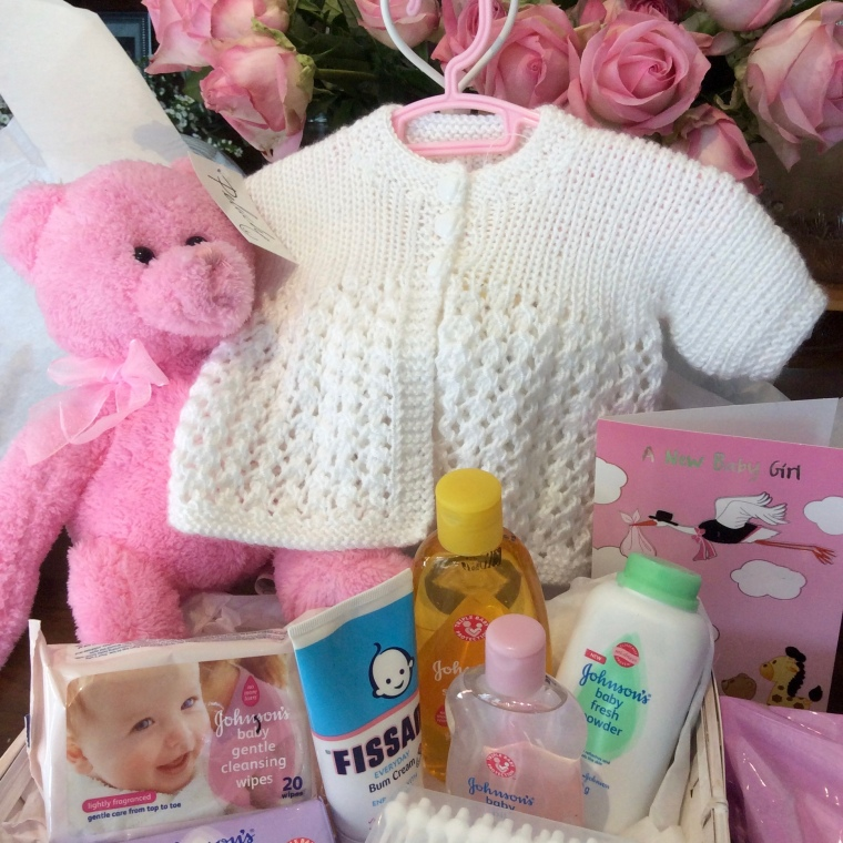 Baby girl hampers delivered countrywide