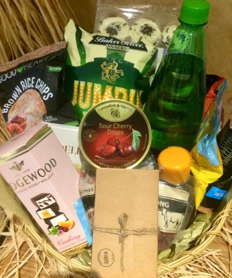 Snack hampers and fruit baskets delivered in Port Elizabeth