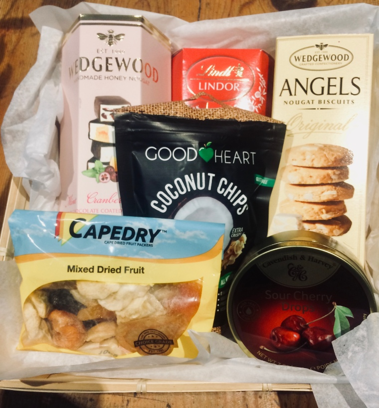 Mixed hampers packed